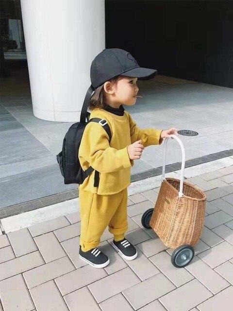 الروطان عربة الأطفال اللعب منزل لعبة التظاهر اللعب عربة التسوق غرفة الأطفال الديكور اطلاق النار الدعائم عربة حديقة