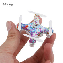 Niosung New Mini Headless Mode 2 4G 4 axis with High Hold Mode LED Quadcopter Drone