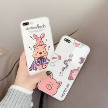 Silicone Case TPU Soft Cover For iPhone X XR XS Xs Max 7 Plus 8 Plus Cases For iPhone 6S Plus 6 Plus Case Cute Phone Accessories цена и фото