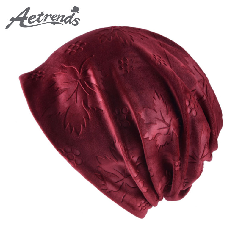 [AETRENDS] Multi Style Hip Hop Beanies Skullies Collar Scarf Winter Hats for Women and Men Z-5941 органайзер для раковины sling красный 1187696