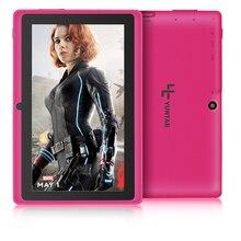 """Envío libre 7 """"Q88 Allwinner A33 Quadl Core 1.5 GHz Cinco Colores Q88 7 pulgadas Tablet PC 1024×600 de Doble Cámara de 2500 mAh 8 GB"""