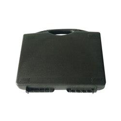 SQ007 prosta twarda skrzynka narzędziowa formowana wtryskowo wytrzymała mała walizka narzędziowa z tworzywa sztucznego