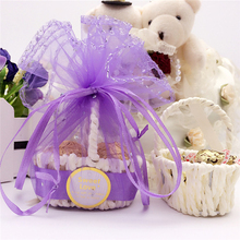 20Pcs/bag Creative personality Candy box Rattan craft basket gift Finished yarn bag packaging Party Wedding Supplies