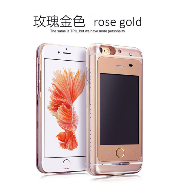 25e14fc201 Original 2 in 1 GSM Dual SIM Android 4.4 Cellphone & case protector GSM Cellphone  Case Back Cover Bundle For iPhone 6/6S