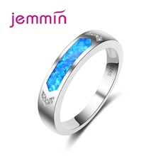 Jemmin Women Fine Anillos Jewelry S925 Stamped Sterling Silver Women Rings For Party Accessories Wedding Finger Ring For Brides