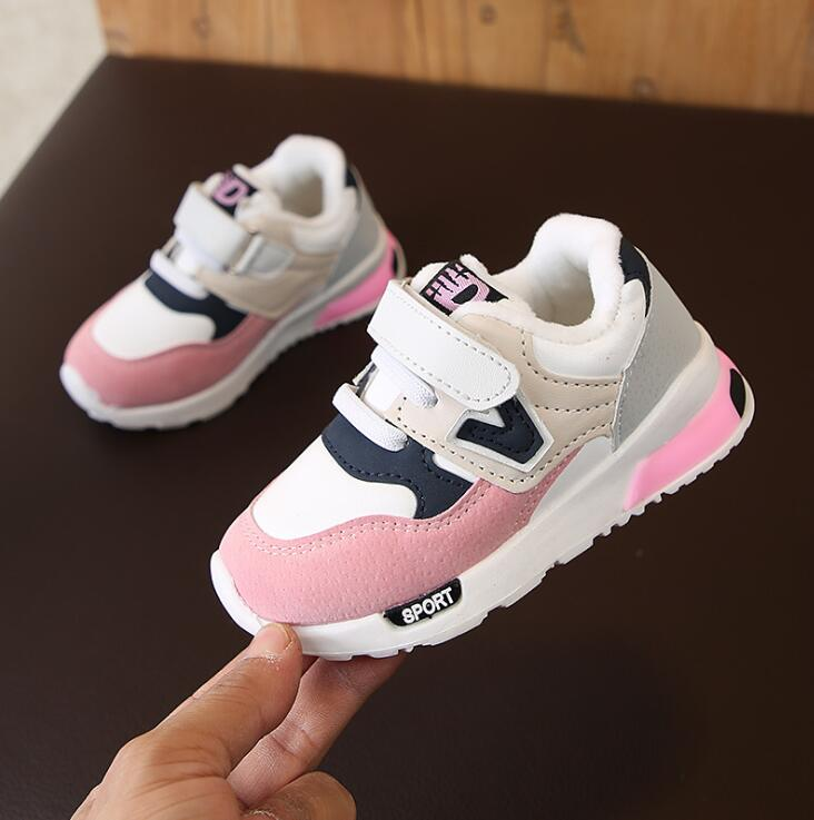 Kids Warm Shoes for Boys Girl Children Casual Sneakers Baby Girl Breathable Soft Running Sports Shoe Pink GrayKids Warm Shoes for Boys Girl Children Casual Sneakers Baby Girl Breathable Soft Running Sports Shoe Pink Gray