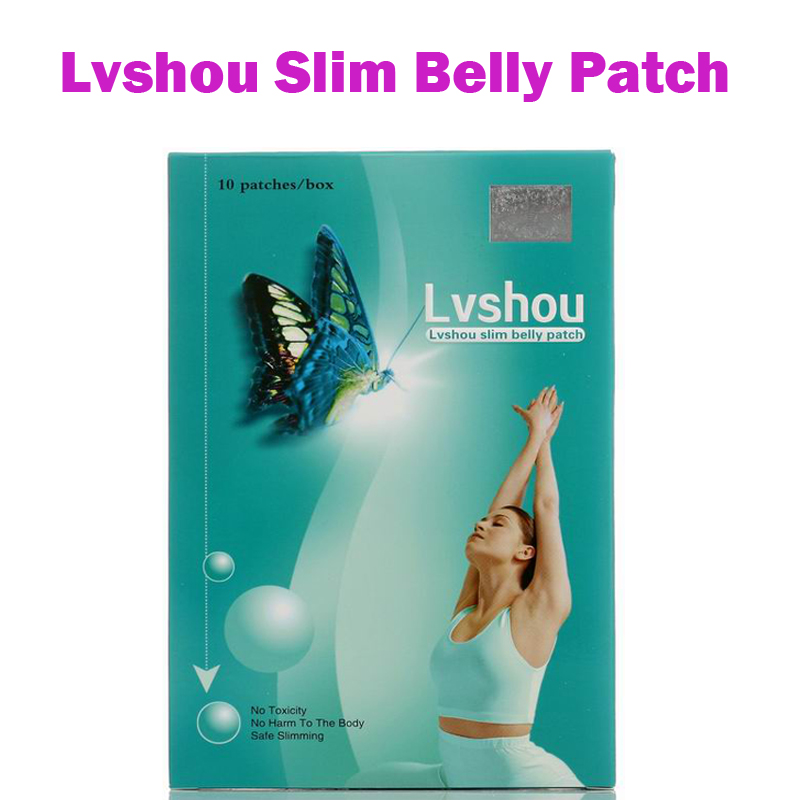 (3 Boxes Supply) Lvshou slimming belly patch magnetic diet pad lose weight fast burn fat for men & women