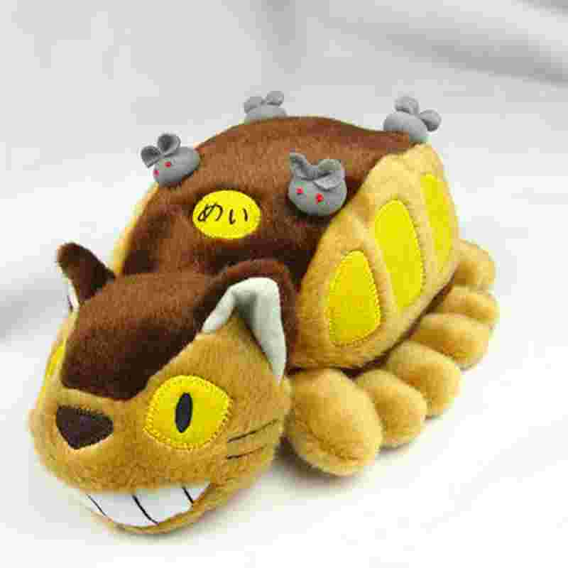 30cm Anime Totoro Catbus My Neighbor Ghibli Cat Bus Plush font b Toys b font Stuffed