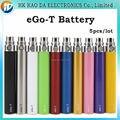 Mejor cigarrillo electrónico Ego batería t Batería multicolor batería 650 mah 900 mah 1100 mah para Cigarrillos Electrónicos Kit cig 5 unids/lote