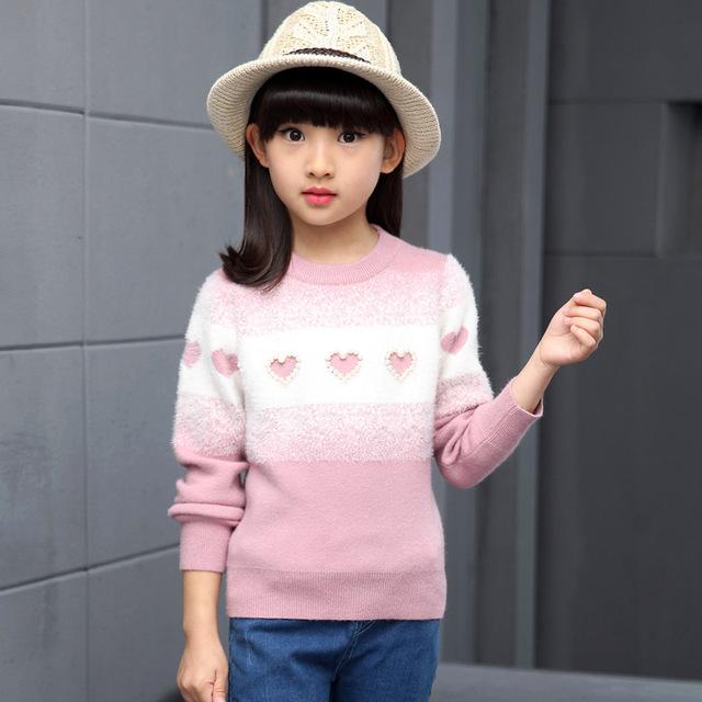 De los Bebés Outwear Cardigan Suéteres 2016 Invierno Casual manga Larga Encantadora Niños Kintted Suéteres de Moda ropa Para Niños