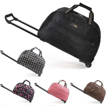 Luggage Bag Travel Duffle Trolley bag Rolling Suitcase Trolley Women Men Travel Bags  With Wheel Carry-On bag - DISCOUNT ITEM  30% OFF All Category