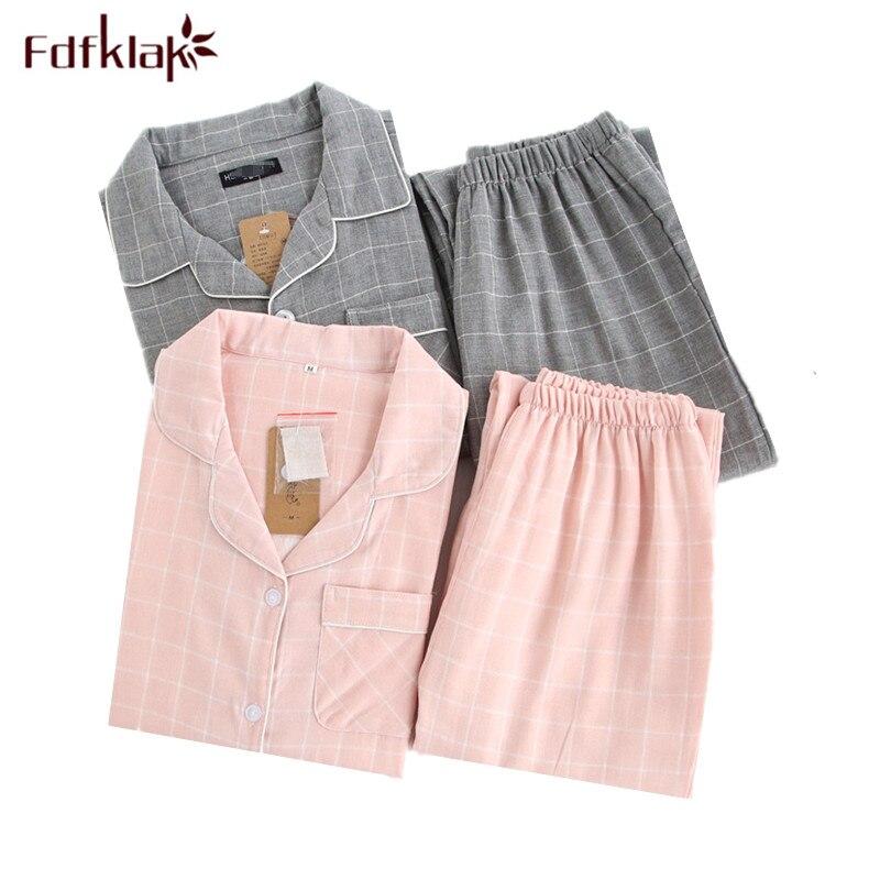 74ef136c44683 Fdfklak High Quality Cotton Pajamas Women Long Sleeve Maternity Clothes  Pregnancy Pajama Pregnant Women Sleepwear Pijamas