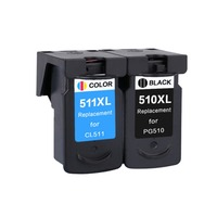 YLC 1set PG510 CL511 pg510 cl511 Compatible Ink Cartridge for Canon MP280 MP480 MP490 MP240 MP250 MP260 MP270 IP2700 printer