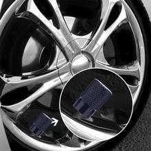 Vodool 4 шт./компл. Универсальный Авто Велосипедный Спорт шин Колпачки клапанов Пыль Покрывает для Шредера Клапан Алюминий автомобиля Средства для укладки волос