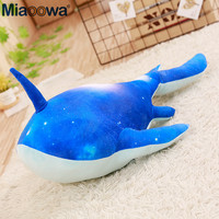 1pc 80cm Glory of Kings Cute Kun Kraken Whale Plush Dolls Cartoon Unicorn Fish Plush Stuffed Shark Toy For Children Pillow Gift