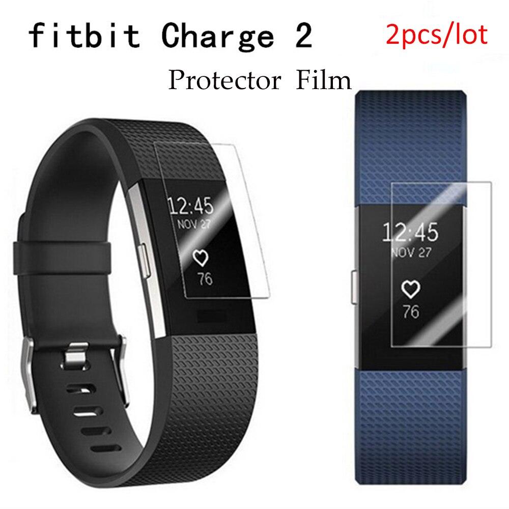 Ταινία προστατευτικού οθόνης 2 τεμ. Για φόρτιση Fitbit 2 Πλήρης κάλυψη Smart Watch Προστατευτική μεμβράνη για φόρτιση Fitbit 2, μη σκληρυμένο γυαλί