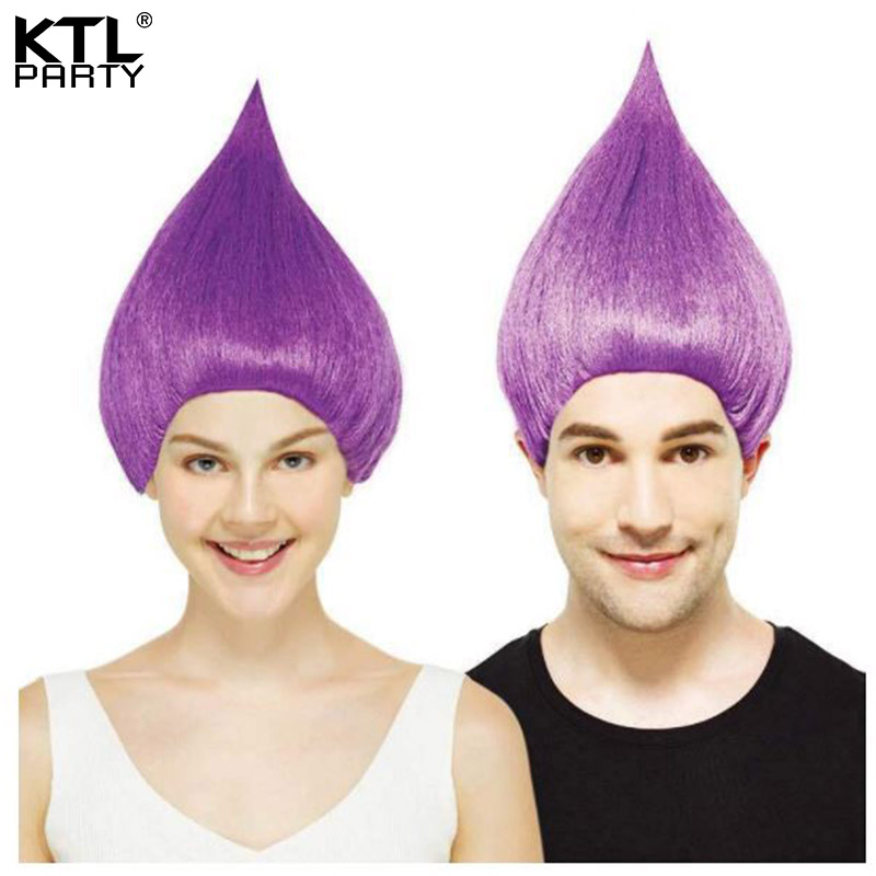 KTLPARTY 3pcs lot TROLLS Poppy wig for girls and women adult and kids  cosplay wig patry costume props headdress-in Party Hats from Home   Garden  on ... c3e3013b72