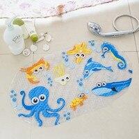 High Quality Multi Style Cartoon Animal Pattern PVC Non Slip Bath Mat Bathtub Mat Shower Mat