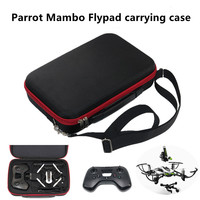 Waterproof Shoulder Bag Carry Box for Parrot Minidrone Mambo /Flypad Remote Controller