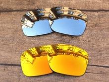Chrome Silver   Fire Red 2 Pairs Espelho Polarized Lentes de Reposição para óculos  Holbrook Óculos De Sol Quadro 100% UVA   Uvb cecec980bd