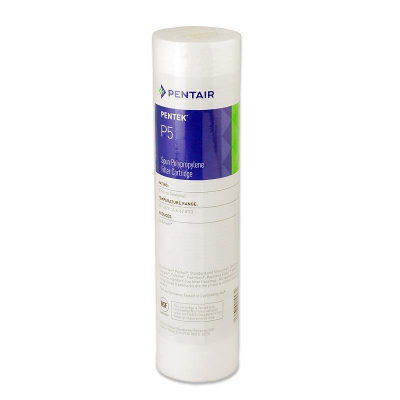 Fishek për filtrat e ujit të sedimentit Coronwater PP 5 mikron - Pajisje shtëpiake - Foto 4