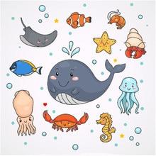 Eastshape Metal Cutting Dies 2019 for Craft Scrapbooking Album Embossing Stencil Die Cut Cute Ocean Animals Card Decoration
