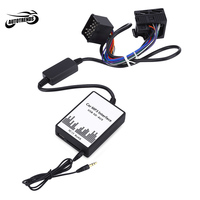 Car MP3 Audio Interface USB SD Data Cable AUX Adapter 17 PIN Audio Digital CD Changer for BMW / Mini / Rover DC 12V WMA decoder