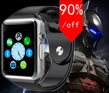 free shipping WristWatch Bluetooth Smart Watch Sport Pedometer With SIM Camera font b Smartwatch b font