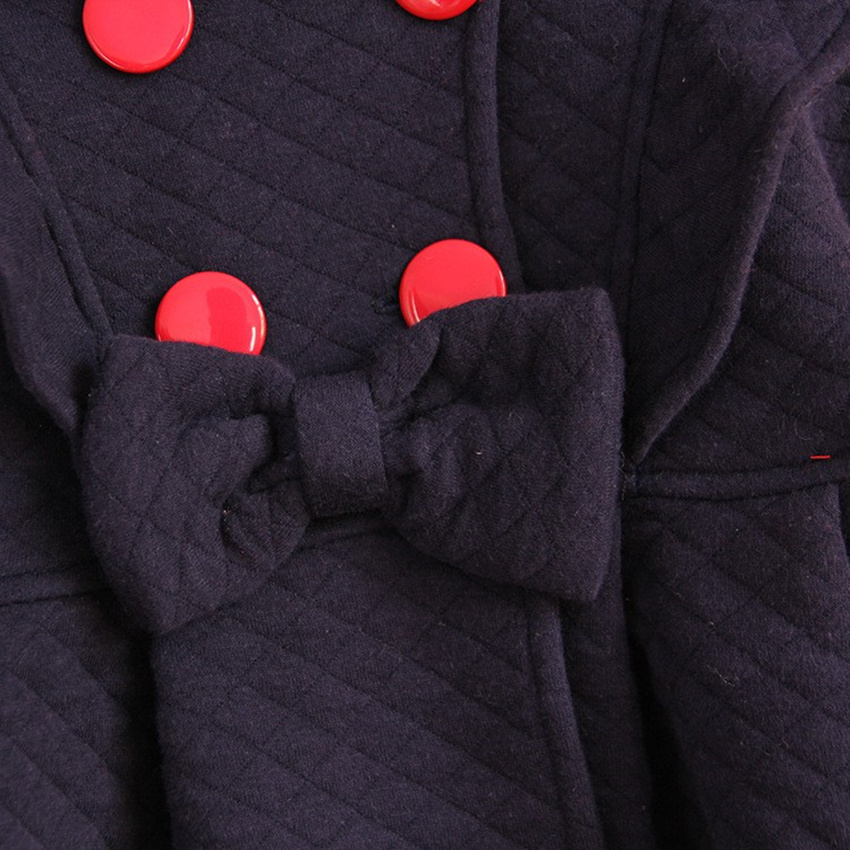 Kanak-kanak Perempuan Pakaian Luar & Mantel Atas kapas biru merah - Pakaian kanak-kanak - Foto 5