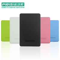 2 5 PIRISI HDD Slim Colorful USB3 0 External Hard Drive 160GB 250GB 320GB 500GB Storage