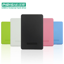 ФОТО 2.5'' pirisi hdd slim colorful usb3.0 external hard drive 160gb/250gb/320gb/500gb storage disk wholesale and retail super deals