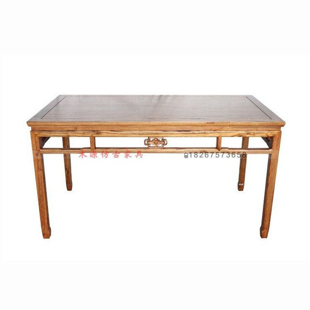 Wholesale 1.5 Meters Of Solid Wood Tables Calligraphy And Painting Students  Long Dining Table Antique Furniture