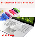 "2 Pieces Washable Laptop Keyboard Cover For Microsoft Surface Book 13.5"" Waterproof Cover Film For Surface Book Dustproof"