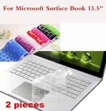 Computer Office - Laptop Accessories - 2 Pieces Washable Laptop Keyboard Cover For Microsoft Surface Book 13.5