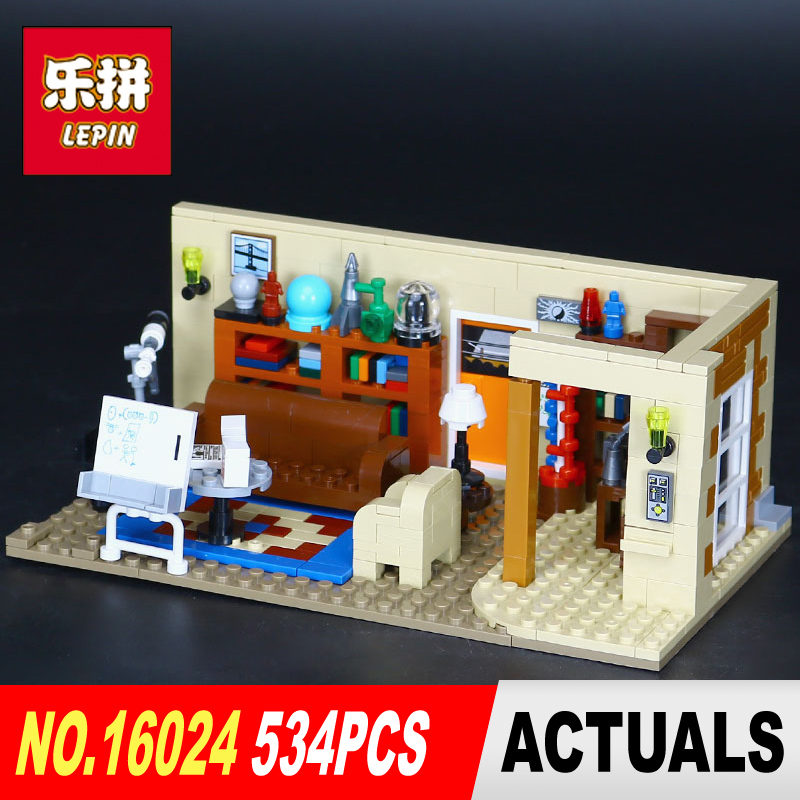 Lepin 16024 534Pcs IDEAS Series The Big Bang Set Educational Building Blocks Bricks Compatible Children Toys Gift 21302 lepin 02012 city deepwater exploration vessel 60095 building blocks policeman toys children compatible with lego gift kid sets