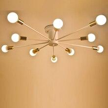 Modernas Lámparas de Techo led blanco Negro living Lámparas de Techo Sala de estar dormitorio Luminaria Lustre lámparas de Techo de Iluminación