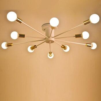 Moderne led Decke Lichter Schwarz weiß wohnzimmer Decke Lampen Wohnzimmer  schlafzimmer Luminaria Glanz Decke Leuchten