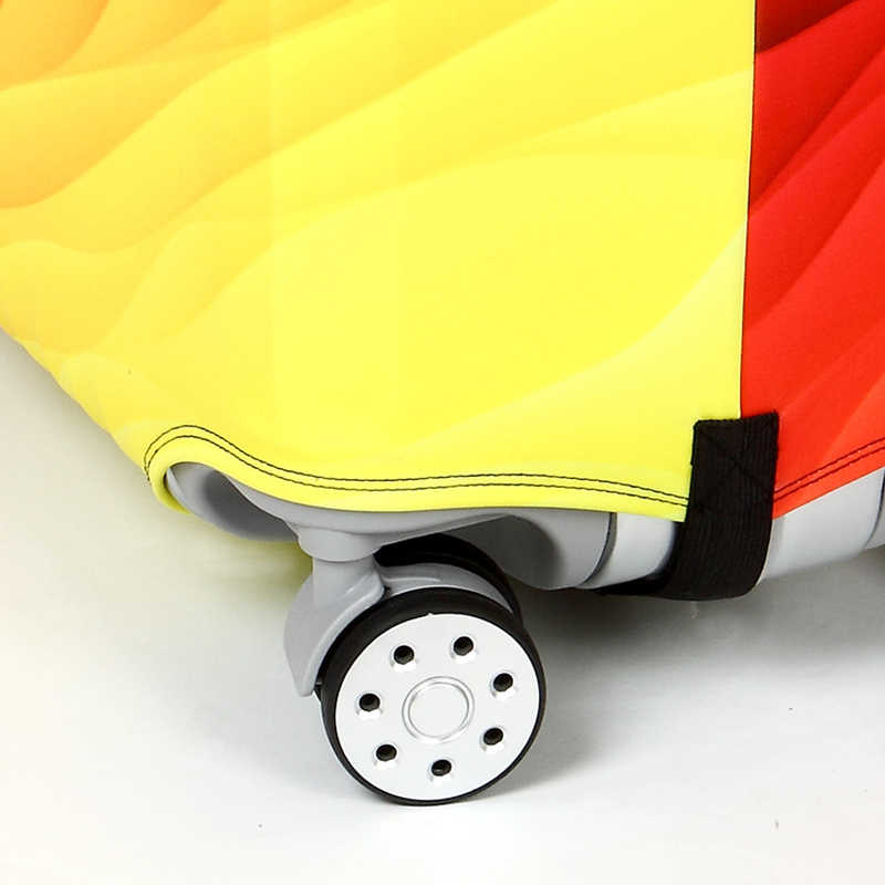 Однотонные полосы, Чехол для багажа, аксессуары для путешествий, чехол для чемодана на колесиках, Эластичный Защитный чехол для багажа 18-32 дюйма