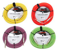 Kirlin Advanced Copper Wire Guitar Bass Low Noise Cable 10 Meters Electric Guitar Cable