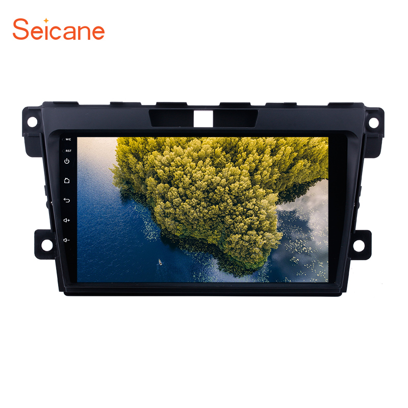 Seicane 9 inch Android 6.0 2 Din Car Radio GPS Navigation for 2007 2008 2009 2010 2011 2012 2013 2014 MAZDA CX-7 support USB цена