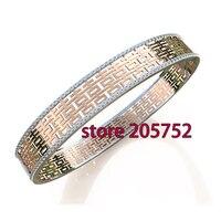 Модель 2016 года; новый стиль браслет Для женщин браслет Европейский Стиль Большой браслет золотой браслет Мульти Цвет браслет