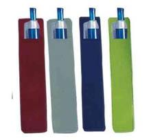 Free shipping 500 pieces suede pen sleeve velvet pen pouch velvet bag pen box pen bag gift pouch black velvet pouch-in Pencil Bags from Office & School Supplies    2