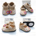 Baby boys/girls Shoes First Walkers Baby half-rubber sole Prewalker Shoes newborn toddler outdoor shoes R886