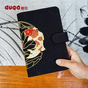 Image 3 - Agenda Kawaii Koi Notebook Cartoon Animal Journal planificador diario cubierta de tela Bloc de notas Bullet diario libro para niños regalo