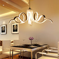 2017 New design Modern Pendant lights for Living room Dining room Kitchen lights Acrylic Body Hanging lamp LED Lighting 75w