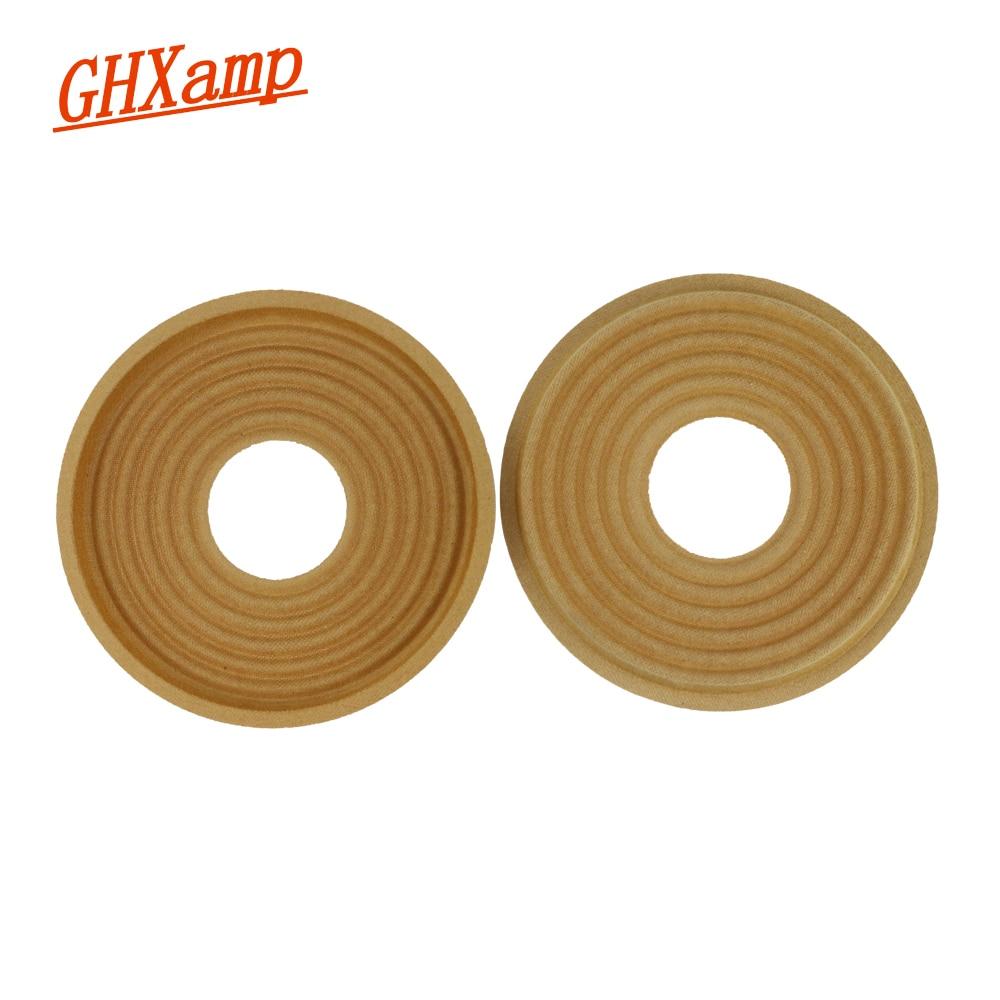 Ghxamp 155mm 49mm Woofer Spider Spring cloth Pad Bullet Wave Shrapnel For 10