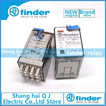 Brand new and original finder 55.34.9.024.5040 24VDC 7A 4co finder relay