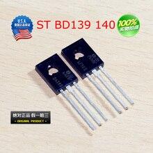 BD139 BD140Transistor TO-126 NPN PNP 80V 1.5A TO126 Silicon Triode Transistor HIFI audio amplifier