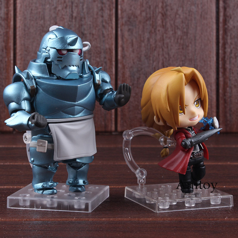 Nendoroid Fullmetal Alchemist 796 Alphonse Elric / 788 Edward Elric PVC Good Smile Action Figure Collectible Model Toy 1