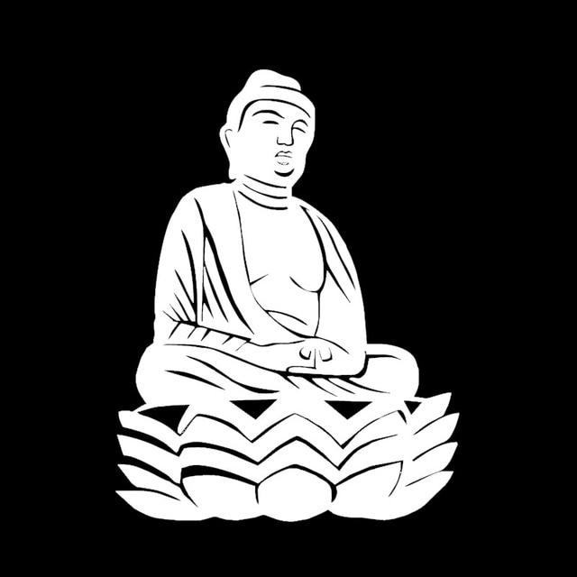 Us 312 Feierliche Und Geheimnisvolle Buddha Lotus Blume Art Car Aufkleber Für Lkw Motorrad Kajak Auto Dekor Wasserdicht Vinyl Aufkleber 10 Farben